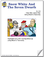 Snow White and The Seven Dwarfs Fairy Tale Lesson Using Bloom's Taxonomy (Grades 3-5)