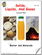 Solids, Liquids, and Gases Lesson Plan