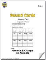 Sound Cards Lesson Plan