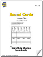 Sound Cards Lesson Plan