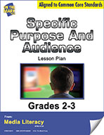 Specific Purpose and Audience Lesson Plan (eBook)