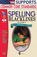 Spelling Blacklines Grade 2