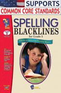 Spelling Blacklines Grade 3