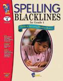 Spelling Blacklines Grade 4