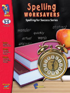 Spelling Worksavers Number 1