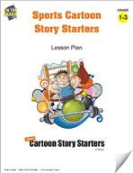 Sports Cartoon Story Starters Grades 1-3