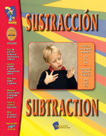Sustraccion/Subtraction (Spanish/English)