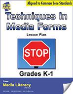 Techniques in Media Form Lesson Plan (eBook)