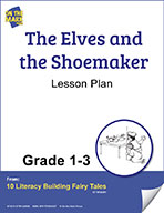 The Elves and the Shoemaker Aligned to Common Core Gr. 1-3 (elesson plan)