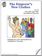 The Emperor's New Clothes Fairy Tale Lesson Using Bloom's Taxonomy (Grades 3-5)