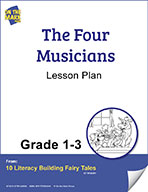 The Four Musicians Aligned to Common Core Gr. 1-3 (elesson plan)