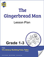 The Gingerbread Man Aligned to Common Core Gr. 1-3 (elesson plan)