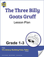 The Three Billy Goats Gruff Aligned to Common Core Gr. 1-3 (elesson plan)