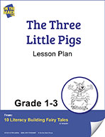 The Three Little Pigs Aligned to Common Core Gr. 1-3 (elesson plan)