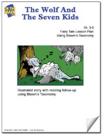 The Wolf and the Seven Kids Fairy Tale Lesson Using Bloom'