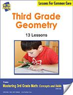 Third Grade Geometry Lesson for Common Core (eLesson eBook)