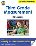 Third Grade Measurement Lessons for Common Core (eLesson eBook)
