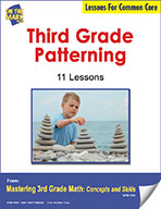 Third Grade Patterning Lesson for Common Core (eLesson eBook)