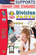 Timed Division Facts (Enhanced eBook)