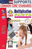 Timed Multiplication Facts (Enhanced eBook)