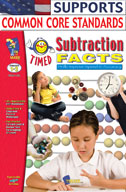 Timed Subtraction Facts (Enhanced eBook)