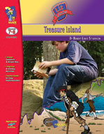 Treasure Island Lit Link: Novel Study Guide (Enhanced eBook)