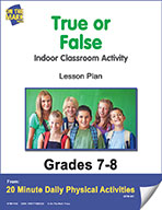 True or False Lesson Plan (eLesson eBook)