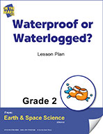 Waterproof or Waterlogged? Gr. 2 (e-lesson plan)