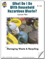 What Do I Do With Household Hazardous Waste?  Lesson Plan