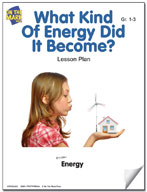What Kind of Energy Did it Become? Lesson Plan