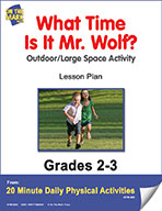 What Time Is It Mr. Wolf? Lesson Plan (eLesson eBook)