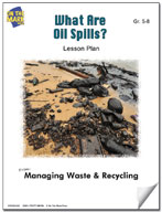 What are Oil Spills?  Lesson Plan