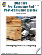 What are Pre-Consumer and Post- Consumer Waste?  Lesson Plan