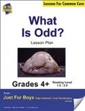 What is Odd? (Non-Fiction - Report Writing) Grade Level 2.4 Aligned to Common Core e-lesson plan