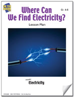 Where Can We Find Electricity? Lesson Plan