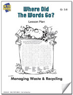 Where Did the Words Go?  Lesson Plan