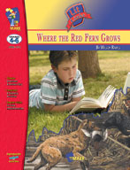 Where the Red Fern Grows Lit Link Gr. 4-6: Novel Study Guide