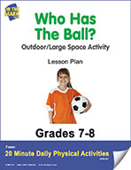 Who Has The Ball? Lesson Plan (eLesson eBook)