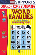 Word Families 2, 3, 4 Letter Words Big Book