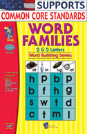 Word Families 2, 3 Letter Words (Enhanced eBook)