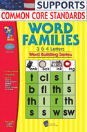 Word Families 3, 4 Letter Words (Enhanced eBook)