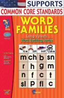 Word Families Long Vowels Gr. 1-2