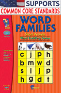 Word Families Short Vowels Gr. 1-2