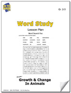Word Study Lesson Plan