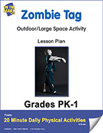 Zombie Tag Lesson Plan (eLesson eBook)