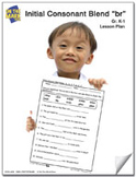 br Initial Consonant Blend Lesson Plan K-1