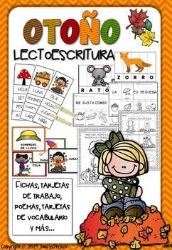 PACK OTOÑO LECTOESCRITURA - JUEGOS Y FICHAS