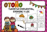 OTOÑO -TARJETAS ENCUENTRA, ESCRIBE Y LEE-