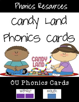 OU Candy Land Cards