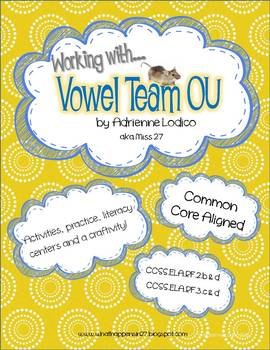 OU Literacy Centers aligned to Common Core Reading Foundational Skills